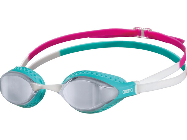 arena Airspeed Mirror Swimglasses silver/turquoise/multi